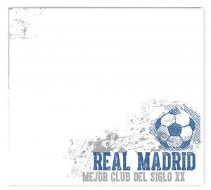 Real Madrid whiteboard muursticker Vintage 50 x 70 cm