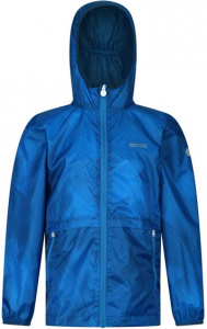 Regatta outdoorjas Bagley junior polyester blauw