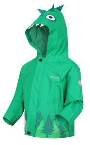 Regatta outdoorjas Peppa Pig junior groen polyester