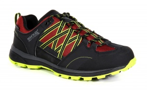 Regatta wandelschoenen Samaris Low heren grijs/lime