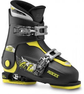 Roces skischoenen Idea Up junior zwart/lime
