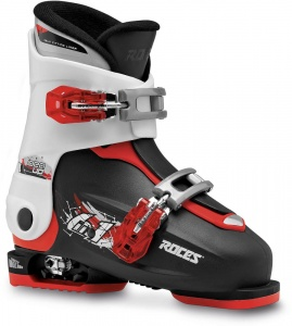 Roces skischoenen Idea Up junior zwart/wit/rood