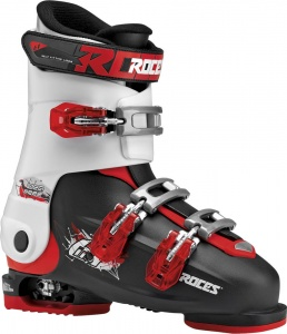 Roces skischoenen Idea Free junior zwart/wit/rood