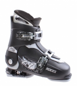 Roces skischoenen Idea Up junior zwart/zilver