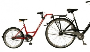 Roland Aanhangfiets Add+Bike 20 Inch Junior 7V Rood