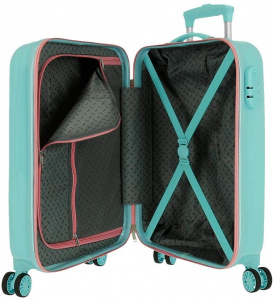 Roll Road kinderkoffer Unicorn 34 liter ABS 55 cm turquoise