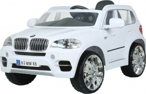 Rollplay BMW X5 SUV RC accuvoertuig 12 Volt wit