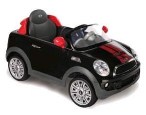Rollplay Mini Cooper S Coupe accuvoertuig 12 Volt zwart