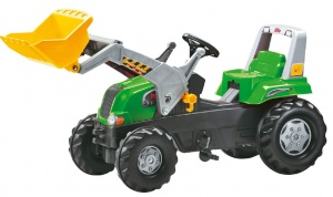 Rolly Toys traptractor RollyJunior RT groen/zwart