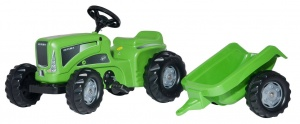 Rolly Toys traptractor RollyKiddy Futura groen