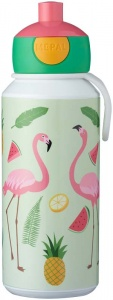 Rosti Mepal Tropical Flamingo Pop-Up Drinkbeker 400ml -  (2018)