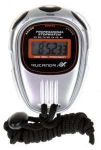 Rucanor stopwatch 11 zilver