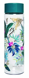 Blueprint Collections waterfles Bloemen 750 ml transparant