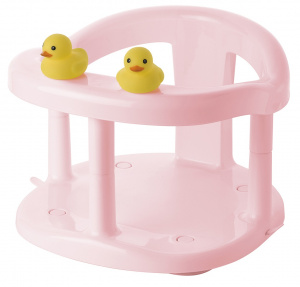 Saro babybadje Duckies junior 32 x 28 cm roze
