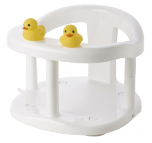 Saro babybadje Duckies junior 32 x 28 cm wit