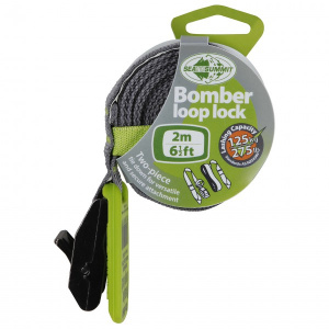 Sea to Summit bomber loop lock spanband 2 meter 125 kg lime