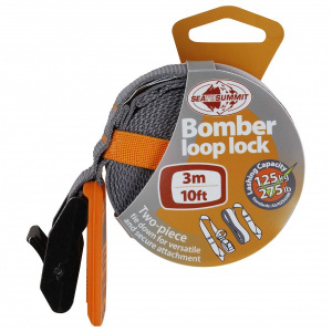 Sea to Summit bomber loop lock spanband 3 meter 125 kg oranje