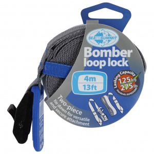 Sea to Summit bomber loop lock spanband 4 meter 125 kg blauw