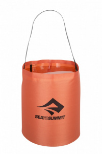 Sea to Summit opvouwbare waterzak 10 liter oranje