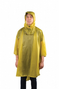 Sea to Summit poncho 15D one size nylon geel