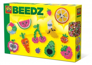 SES Creative strijkkralenset Beedz Kawaii fruit 2300 stuks