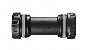 Shimano bottom bracket Dura Ace R9100 Italiaans 68 mm zwart