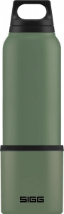 Sigg thermofles Hot and Cold 0,75 liter 8,2 cm RVS donkergroen