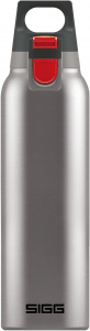 Sigg thermofles Hot and Cold One 0,5 liter 7,2 cm RVS zilver