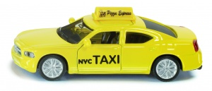 Siku Amerikaanse taxi Dodge Charger geel (1490)