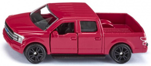 Siku Ford F150 pick-up 8,9 x 3,2 cm staal rood (1535)