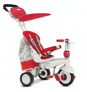 smarTrike Dazzle 5-in-1 Junior Wit/Rood