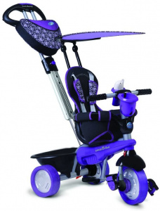 smarTrike Dream 4-in-1 Junior Paars/Zwart