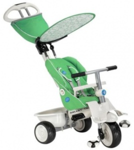 smarTrike Recliner Junior Groen
