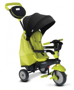 smarTrike Swing DLX 4-in-1 driewieler Junior Groen