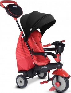 smarTrike Swing DLX 4-in-1 driewieler Junior Rood