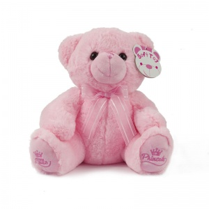 Soft Touch knuffelbeer Little Princess junior 25 cm roze