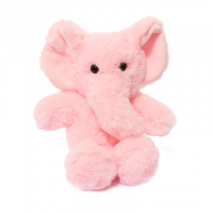 Soft Touch knuffel olifant junior 15 cm polyester roze