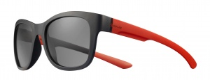 Solar sunglasses unisex cat.3 black/red (JSL30090148)