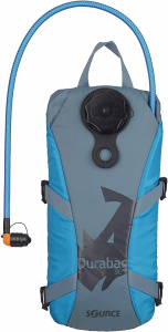 Source waterreservoir Durabag 2 liter nylon blauw/grijs