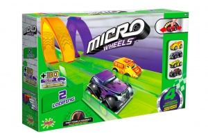 Splash Toys Micro Wheels racebaanset 14-delig