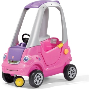 Step2 loopwagen Easy Turn Coupe 88 cm roze