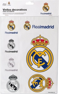 Sumex stickerset Real Madrid wit 7-delig