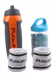 Summit Pursuit fitness set oranje/blauw