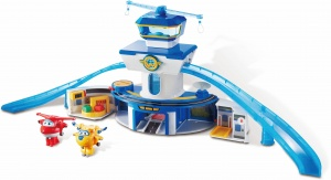 Super Wings speelset World Airport 3-delig