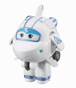 Super Wings transform-a-Bots mini speelfiguur Astra