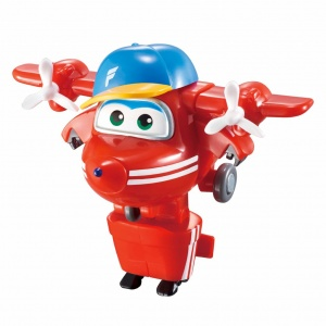Super Wings transform-a-Bots mini speelfiguur Flip