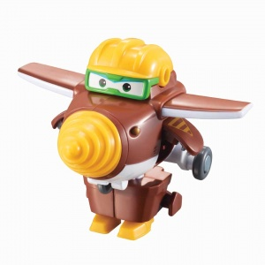 Super Wings transform-a-Bots mini speelfiguur Todd