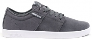 Supra sneakers Stacks heren grijs/wit