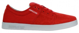 Supra sneakers Stacks II heren rood