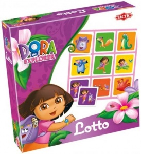 Tactic lotto-spel Dora Lotto